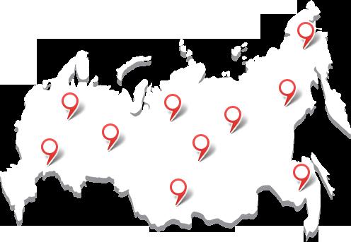 География наших клиентов